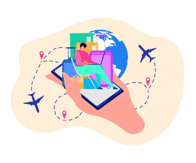 mobile-application-travelers-vector-concept_81522-1125